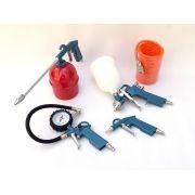 Kit Jogo de Acessórios Para Compressores de Ar Pintura e Oficina 1444BR - Gamma