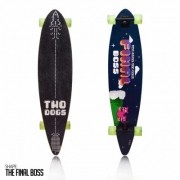 Skate Longboard Two Dogs Flying D3