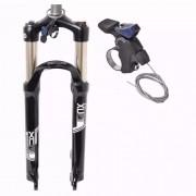 Garfo de Suspensão Para Bicicleta XCR DS RL 32 100MM Suntour