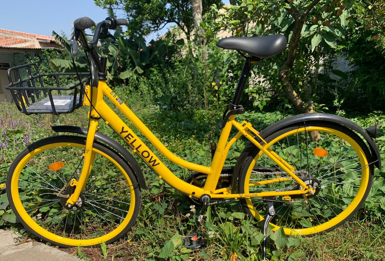 Bicicleta aro 26 - YELLOW