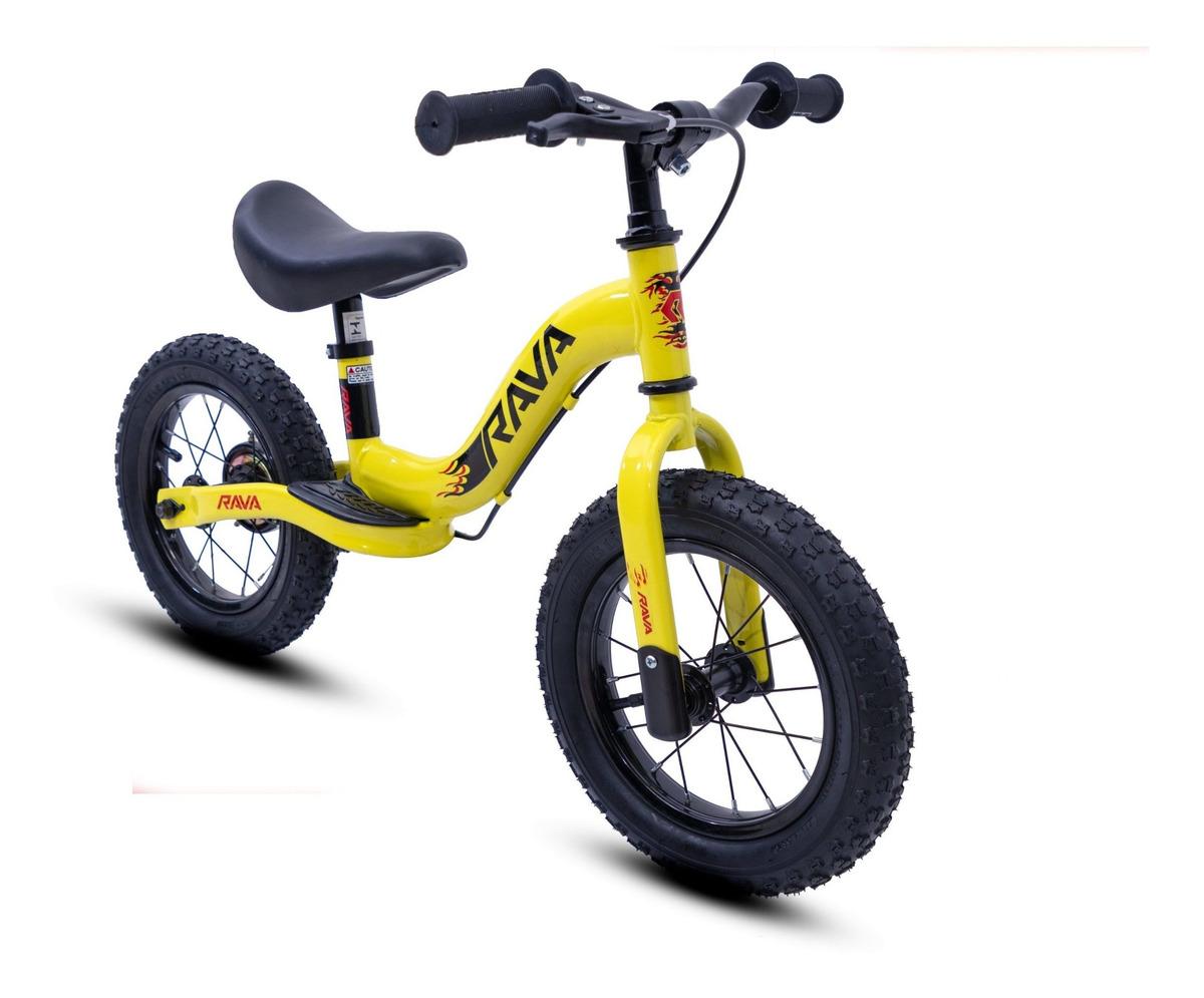 Bicicleta Balance Sem Pedal Aro 12 Infantil Rava