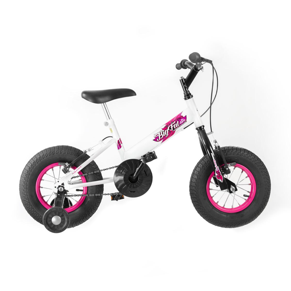 Bicicleta Infantil Feminina Ultra Bikes Big Fat Aro 16 Com Rodinhas - Pro Tork