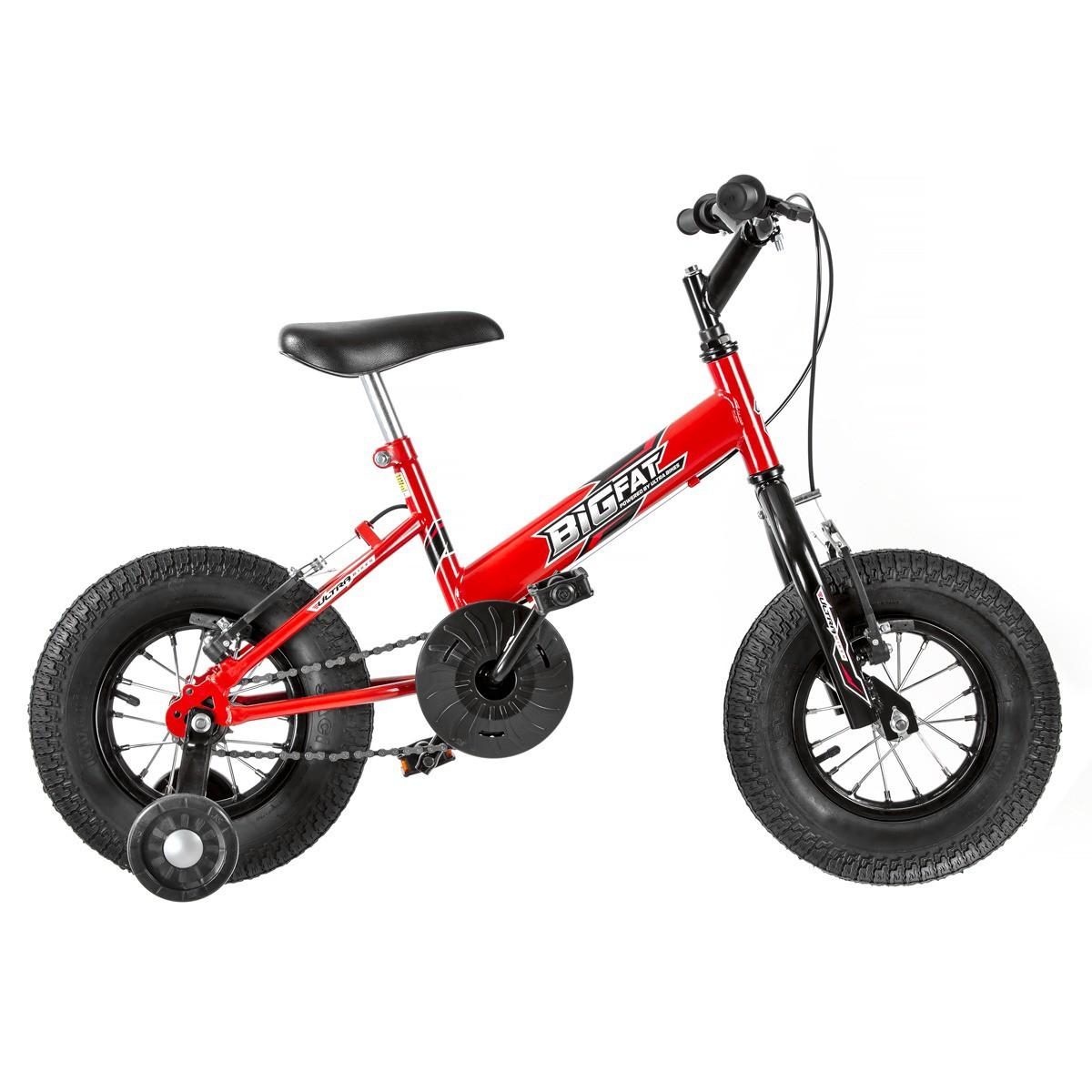 Bicicleta Infantil Ultra Bikes Big Fat Aro 16 Com Rodinhas - Pro Tork