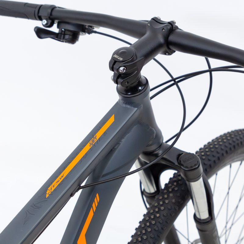 Bicicleta TSW Ride 21 v Aro 29 Tamanho 17  Cinza/ Laranja 2021/2022
