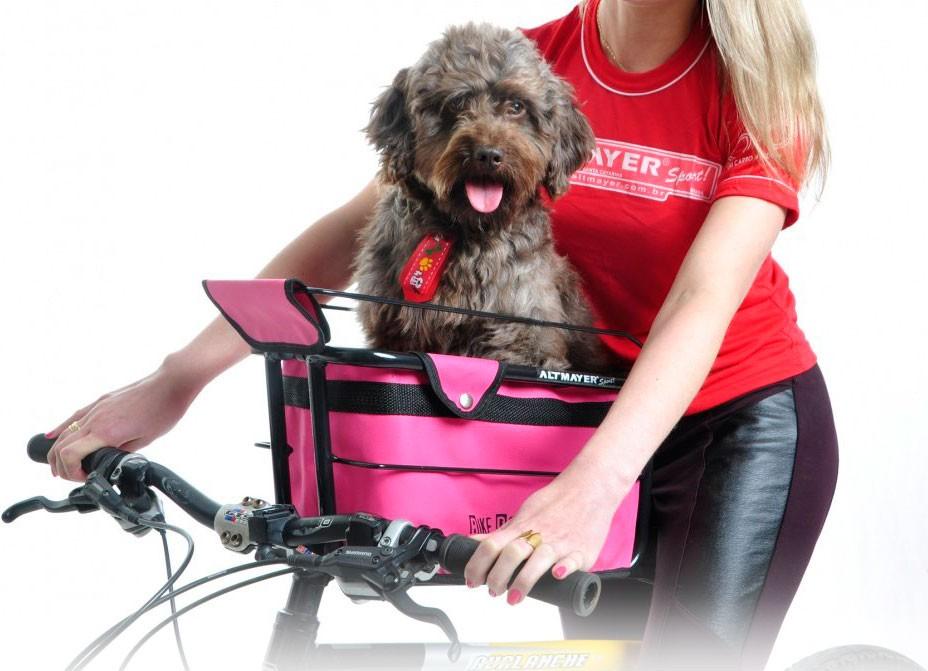 Cestinha De Cachorro Para Bicicleta Dog Full AL-167 Altmayer