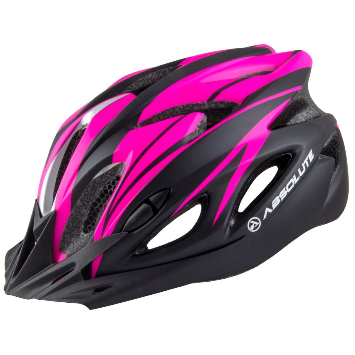Capacete Absolute Nero Wt012 Led Pisca Bike Ciclismo Cores