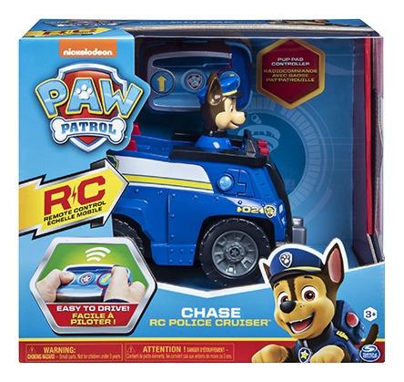 Carrinho Controle Remoto - Patrulha Canina - Chase Polícia