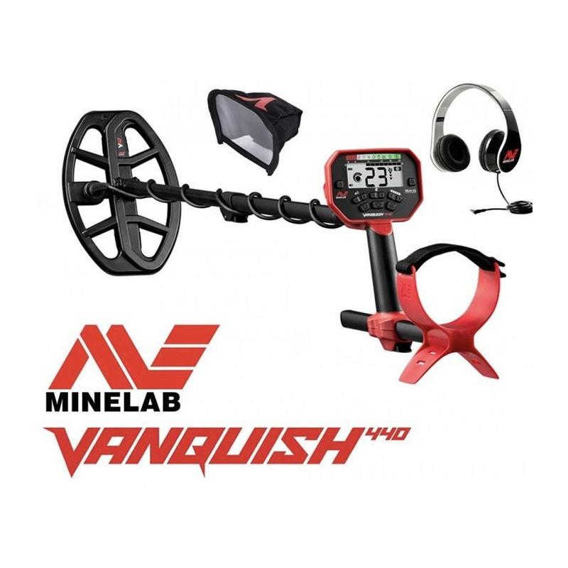 Detector De Metais Minelab Vanquish 440 FRETE GRÁTIS