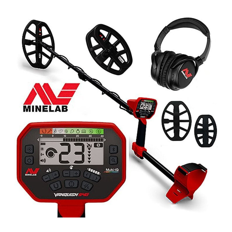 Detector De Metais Minelab Vanquish 540 Pro Pack  FRETE GRÁTIS PARA TODO O BRASIL