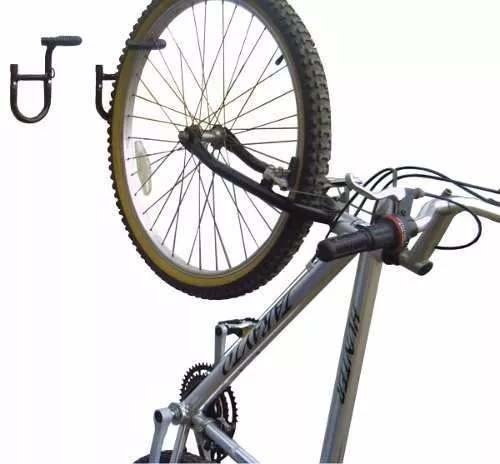 Suporte De Parede Estilo Gancho Para 1 Bicicleta