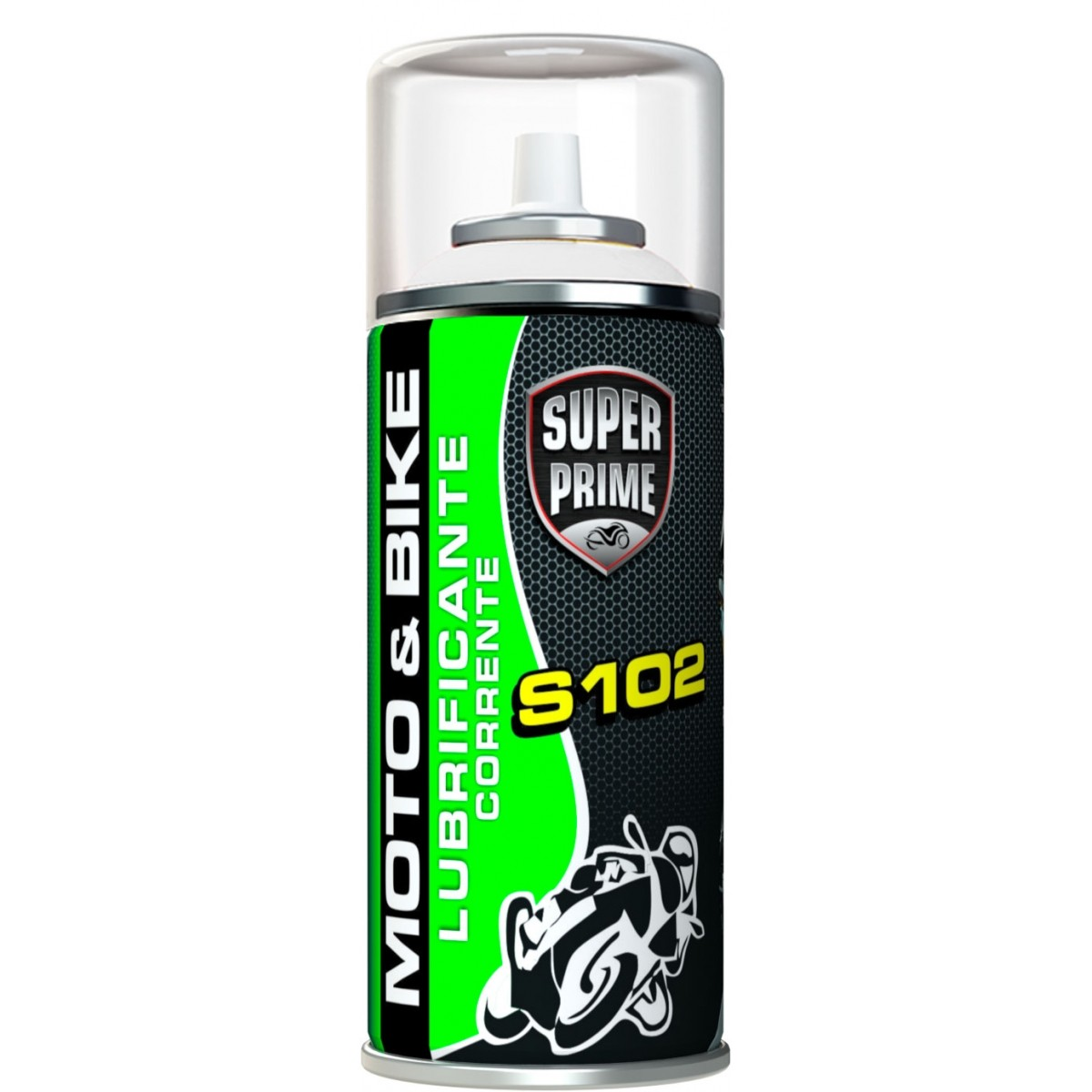 Lubrificante Para Correntes 300ml/60gr Spray Super Prime S102 Moto & Bike