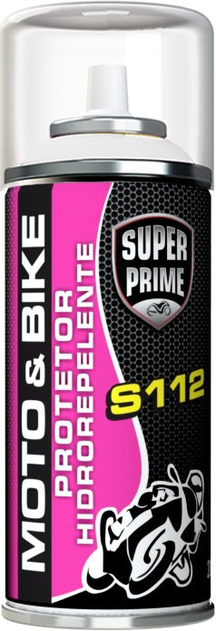 Protetor Hidrorepelente 200ML/90G Spray Super Prime Moto & Bike