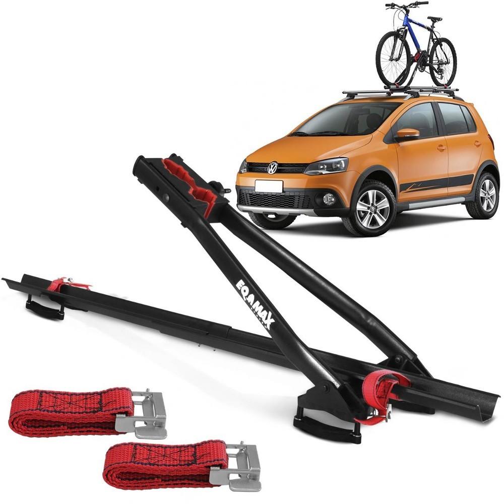 Transbike Rack De Teto Velox Eqmax Para 1 Bicicleta
