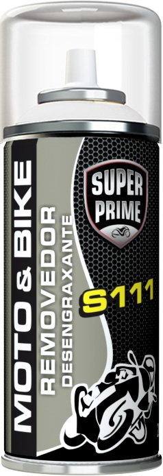 Removedor Desengraxante 200ML/90G Spray Super Prime Moto & Bike