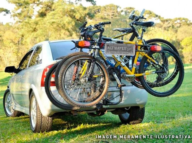 Sinalizador Transbike com Suporte Para Placa Altmayer
