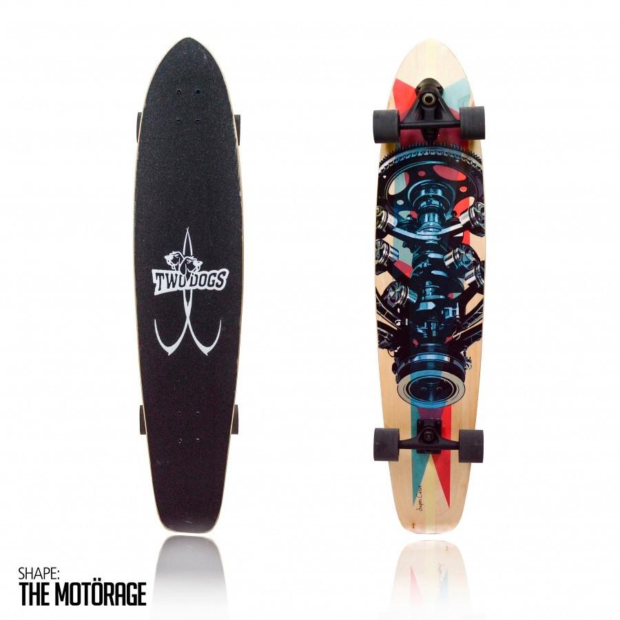 Skate Longboard Two Dogs Super Carve D3