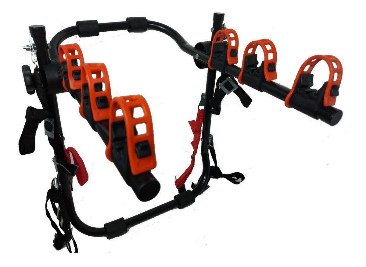 Suporte Transbike Fire Para 3 Bicicletas 6 fitas PROMOÇÃO