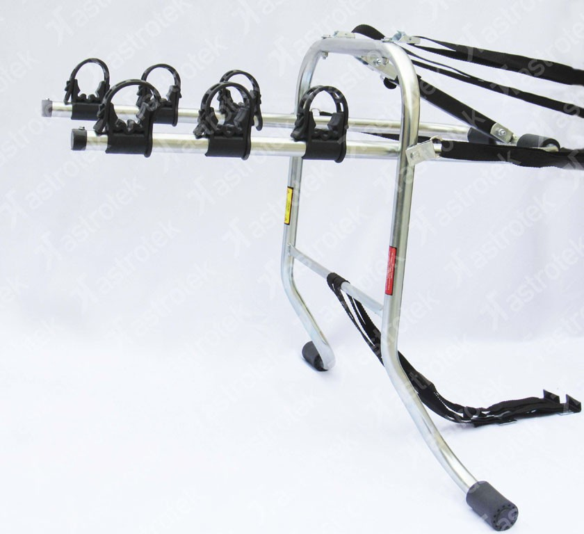 Suporte Transbike Porta Malas Para 3 Bicicletas Galvanizado Com Pino