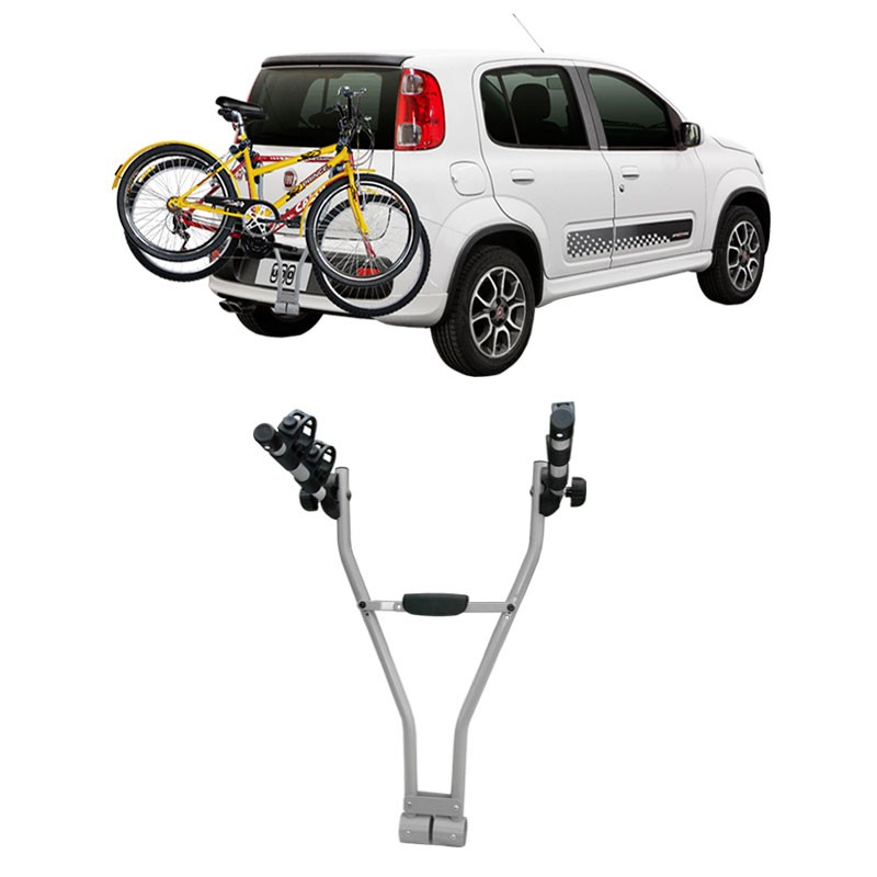 Transbike Para Engate Easy Eqmax Para 2 Bicicletas