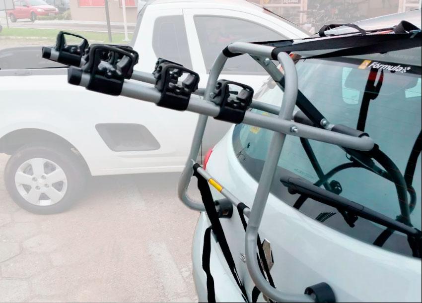 Transbike Para Porta Malas ALT1 Para 3 Bicicletas
