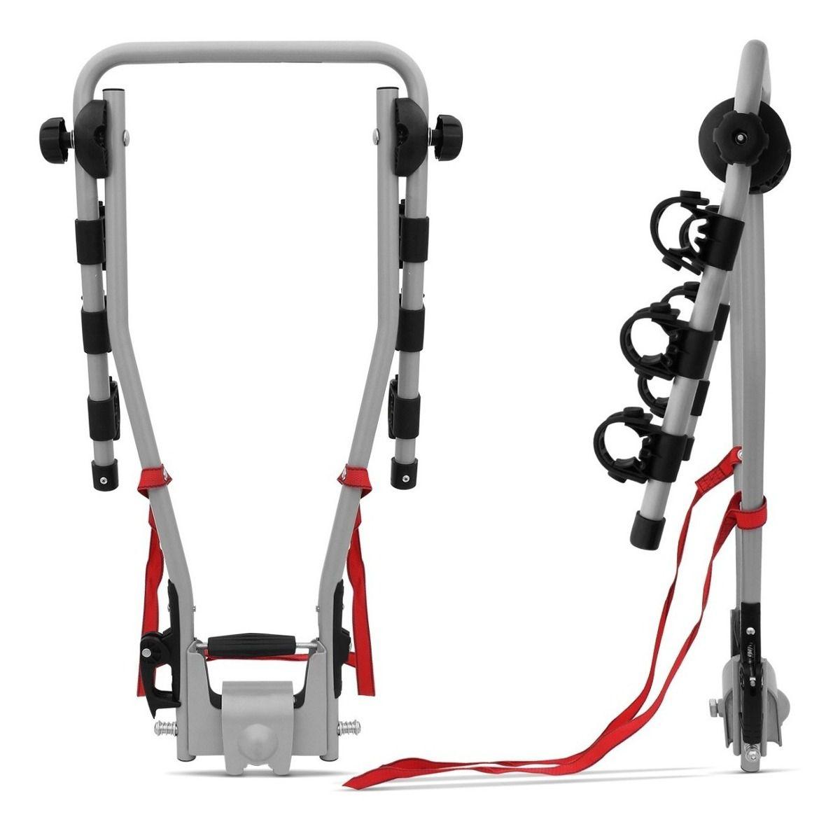 Transbike Para Engate C3x Eqmax Para 3 Bicicletas Inclinável