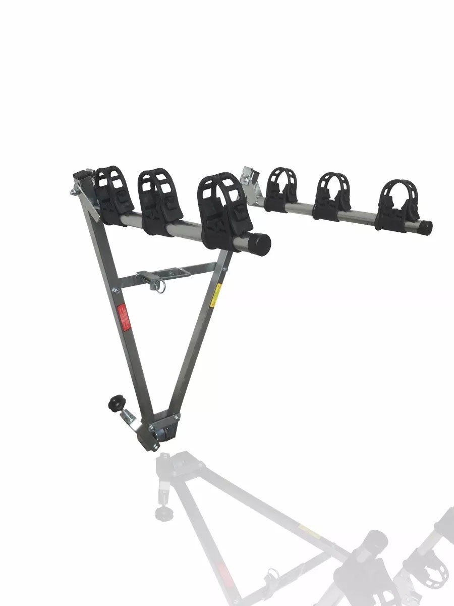 Transbike Para Engate Tipo Bola True Para 3 Bicicletas de Aro 26