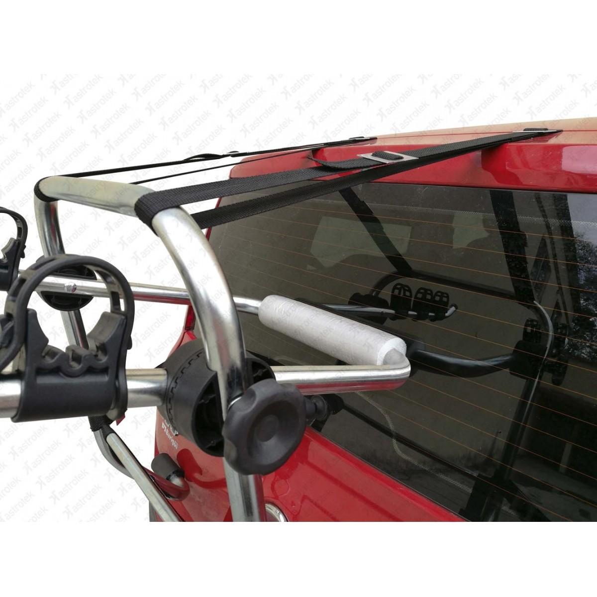 Transbike Para Porta Malas Galvanizado True Para 03 Bicicletas Modelo Alt