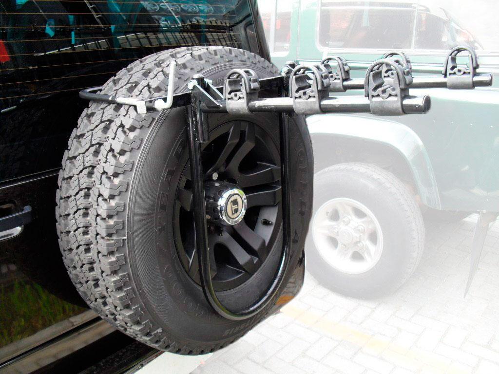 Transbike Para Tr4 Troller e Defender Para 3 Bicicletas