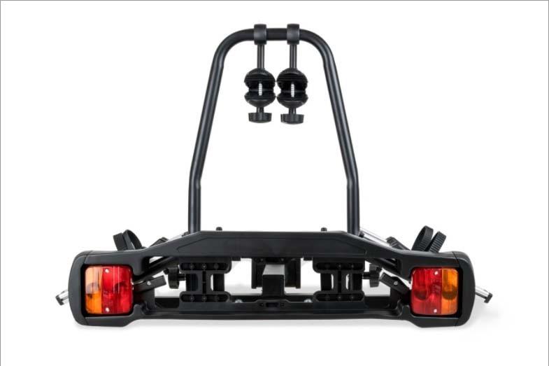 Transbike Rack Alumínio Engate 2 Bikes Com Sinalizador Placa TSW