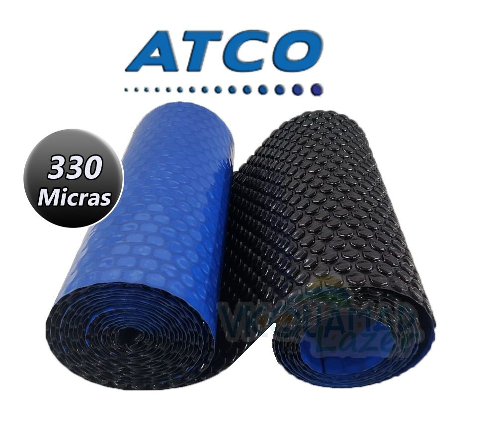 Capa Térmica Atco 7 X 4 Metros Black Modelo Preta