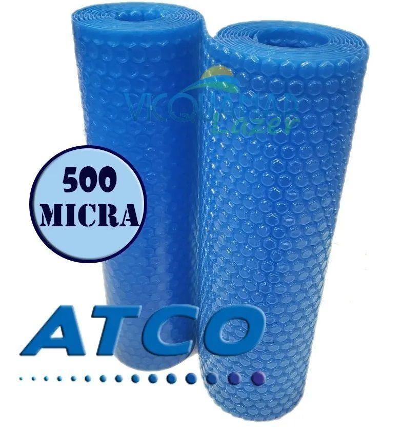 Capa Térmica Atco Plus 9 X 4,5 Metros 500 Micras