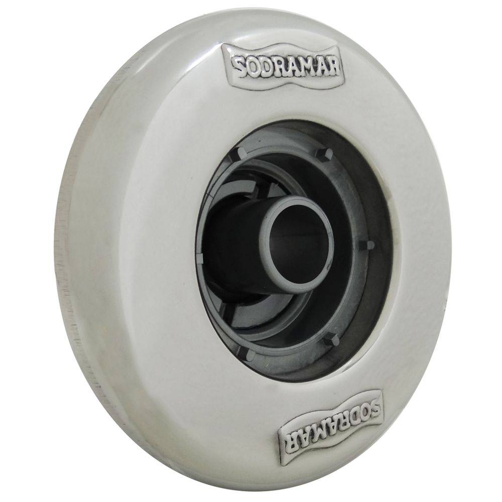 "DISPOSITIVO DE RETORNO PRATIC  SODRAMAR FRONTAL INOX 1.1/2"" ( 50 MM)"