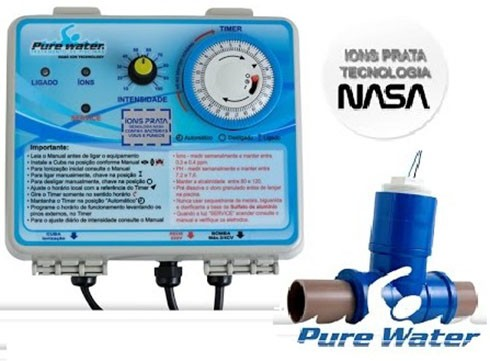 IONIZADOR PURE WATER PW 15