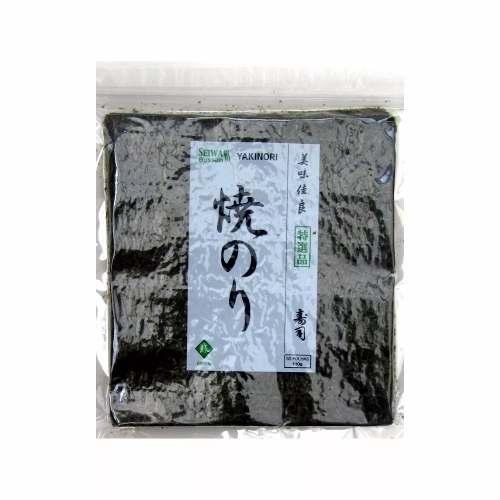 Alga Marinha Yakinori Green Seiwa 50 Folhas