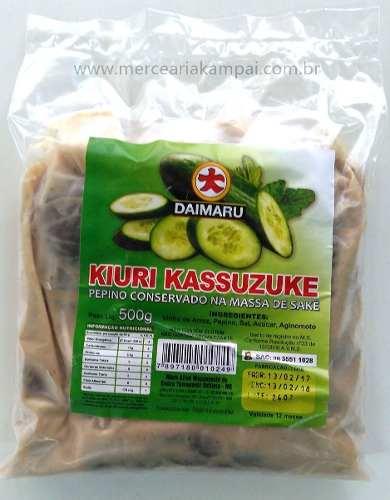 Conserva De Pepino Daimaru Kiuri Kassuzuke 500g
