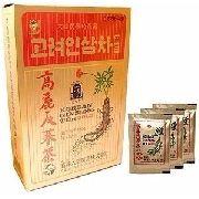Korean Ginseng Tea Gold Chá Coreano 100 Unid Original