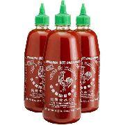Molho Pimenta Sriracha Hot Chili Sauce 793g  (Kit com 3 unid)