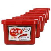 6x Pasta De Pimenta Gochujang Hot Korean Style 500g Atacado