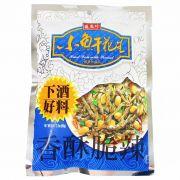 Aperitivo de Peixe seco irico  com amendoim 80g - Triko