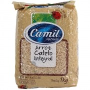 Arroz Cateto Integral - Camil 1kg