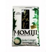 Arroz japonês Momiji Grão Longo 1kg - Verde