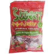 Balas de Algas Marinhas Sabor Morango 200g Sweet Jelly