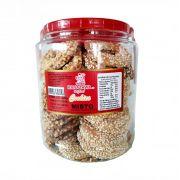 Bicoito Cookie Misto Amendoim/Gergelim Pote 420g- Kanazawa