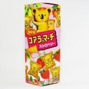 Biscoito com Recheio de Morango Koala 49g - Lotte