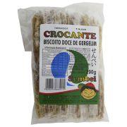 Biscoito Japonês Crocante de Gergelim 290g Sembei