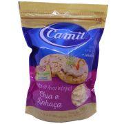 Biscoitos de Arroz Integral com Chia e Linhaça 150g Camil