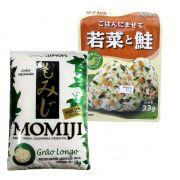 Compre junto Wakame Gohan Sake + Arroz Momiji Longo 1kg