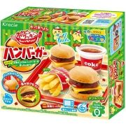 Kit Japonês Kracie Happy Kitchen Hamburger