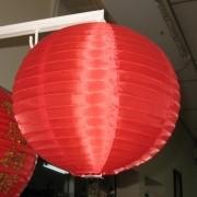 Luminária Decorativo Tyotin 30cm - Vermelho