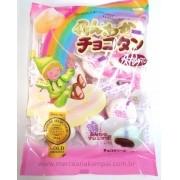 Marshmallow Recheado com Chocolate 90g - Tenkei